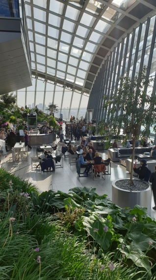Sky Garden Sky Pod Bar Yoga review