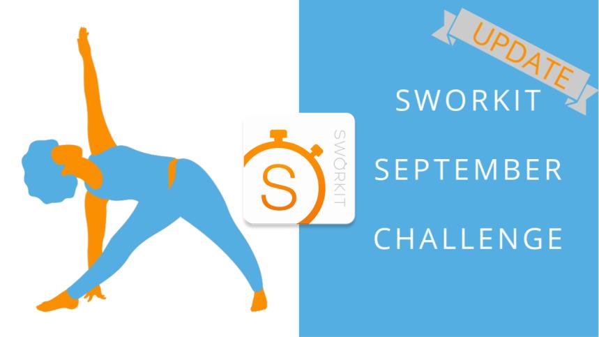 Sworkit september challenge update