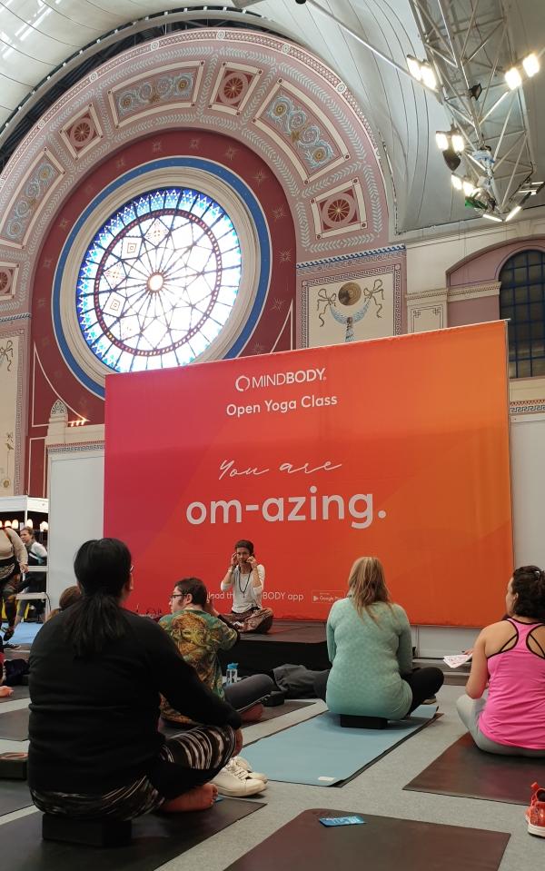 OM Yoga Show Rachel Porquet-Chanmugam