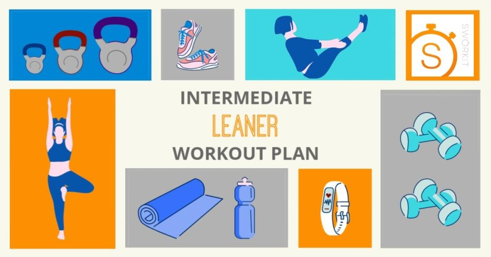 Sworkit Leaner Intermediate workout plan