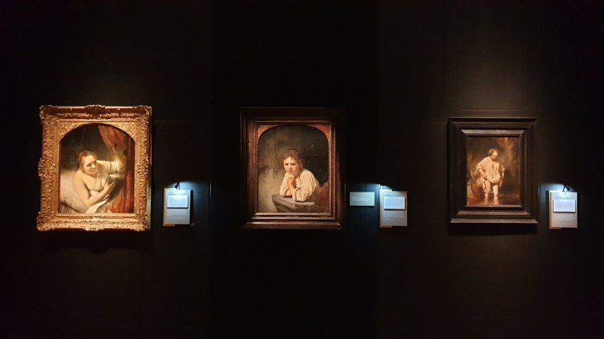 Rembrandt's Light Exhibition