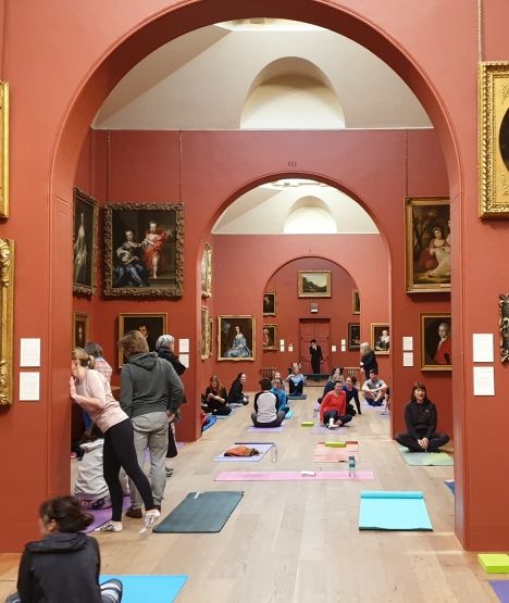 Yoga at Dulwich Picture Gallery